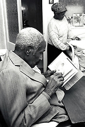 Elderly couple at home, UK 1992