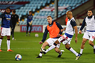 Eoin Doyle ,Alex Baptiste during the EFL Sky Bet League 2 match between Scunthorpe United and Bolton Wanderers at the Sands Venue Stadium, Scunthorpe, England on 24 November 2020.