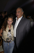 Philip Green and  his daughter Chloe Green. Topshop Fashion Show and party. Berkeley Sq. London. 19  September 2005. ONE TIME USE ONLY - DO NOT ARCHIVE © Copyright Photograph by Dafydd Jones 66 Stockwell Park Rd. London SW9 0DA Tel 020 7733 0108 www.dafjones.com