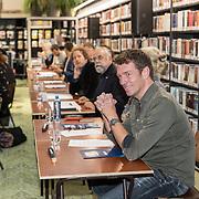 NLD/Zutphen/20191102 - Groot Dictee ter Nederlandse Taal, Deelnemers 2019  o.a. Jan-Willem Roodbeen, Oscar Hammerstein, Ronald Snijders