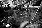 Case popolari nel quartiere di Tor Sapienza. Roma 19 novembre 2014.  Christian Mantuano / OneShot