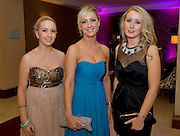 Blaithin and Roisin  Burns from Six Mile Bridge, with Joy Mellett Clonlarra, at the Take Me Out for Cancer Care West in the Sathill Hotel, Galway . Photo:Andrew Downes.