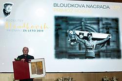 Polde Rogljic at 55th Annual Awards of Stanko Bloudek for sports achievements in Slovenia in year 2018 on February 4, 2020 in Brdo Congress Center, Kranj , Slovenia. Photo by Grega Valancic / Sportida