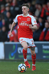 6th January 2018 - FA Cup - 3rd Round - Fleetwood Town v Leicester City - Ashley Hunter of Fleetwood - Photo: Simon Stacpoole / Offside.