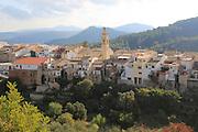 Village of Campell, Vall de Laguar, Marina Alta, Alicante province, Spain