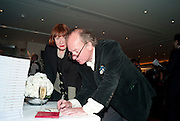 NELL CAMPBELL;DAVID CAMPBELL, Book launch party for the paperback of Nicky Haslam's book 'Sheer Opulence', at The Westbury Hotel. London. 21 April 2010