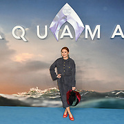 Arielle Free Arrivers at Aquaman - World Premiere at Cineworld Leicester Square on 26 November 2018, London, UK.