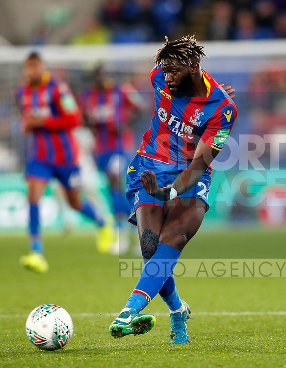 Crystal Palace's Bakary Sako in action during the Carabao cup match at Selhurst Park Stadium, London. Picture date 19th September 2017. Picture credit should read: David Klein/Sportimage