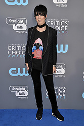 Diane Warren at The 23rd Annual Critics' Choice Awards held at the Barker Hangar on January 11, 2018 in Santa Monica, CA, USA (Photo by Sthanlee B. Mirador/Sipa USA)