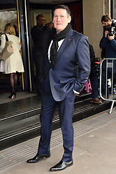 © Licensed to London News Pictures. 08/03/2016. TONY HADLEY arrives for the TRIC Awards. The Television and Radio Industries Club's annual awards ceremony, honour's the best performers and programmes  of the last year .London, UK. Photo credit: Ray Tang/LNP