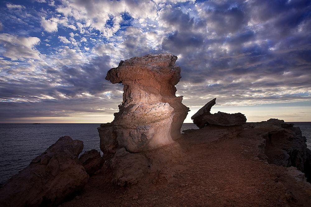 09/Noviembre/2013 Islas Baleares. Ibiza.<br /> Amanecer en Cap Martinet.<br /> <br /> ©JOAN COSTA