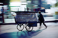 Pushcarts are common in Turkey, used for transport and sales, as much in the developed West as in this eastern city of Diyarbakir.