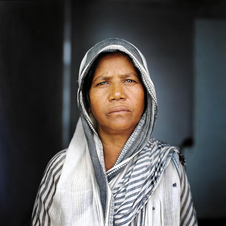 Shurjue Begum. Sirajganj, Bangladesh. August 2011.