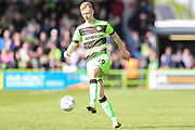 Forest Green Rovers Nathan McGinley(19) during the EFL Sky Bet League 2 match between Forest Green Rovers and Exeter City at the New Lawn, Forest Green, United Kingdom on 4 May 2019.