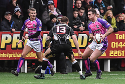 Pontypridd's Dafydd Lockyer in action during todays match - Mandatory by-line: Craig Thomas/Replay images - 30/12/2017 - RUGBY - Sardis Road - Pontypridd, Wales - Pontypridd v Bedwas - Principality Premiership