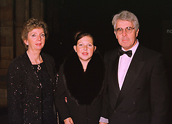 Left to right, MRS MAX CLIFFORD, MISS LOUISE CLIFFORD and her father publicity agent MAX CLIFFORD, at a ball in London on 20th October 1998.<br /> MLL 45