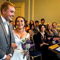Grace and Peter - Cardiff City Hall wedding and Coffi Co
