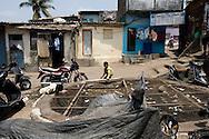 Boys in Dharavi, Mumbai, India