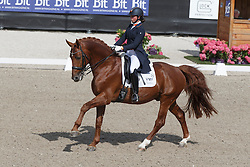 De Frel Stephanie, (NED), Vmf Zethar<br /> Kingsley Donadeo Grand Prix<br /> Dutch Championship Dressage - Ermelo 2015<br /> © Hippo Foto - Dirk Caremans<br /> 17/07/15