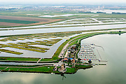 Nederland, Zuid-Holland, Midden-Delfland, 28-09-2014; <br /> Rottemeren met Willem-Alexander roeibaan in de Eendragstpolder.  Eendrachtsmolen. Eendragtspolder wordt heringericht ten behoeve van waterberging en recreatie.<br /> Polder is being redesigned for water storage and recreation. Construction international rowing course Willem-Alexander.<br /> luchtfoto (toeslag op standard tarieven);<br /> aerial photo (additional fee required);<br /> copyright foto/photo Siebe Swart