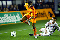 Fotball<br /> EM-kvalifisering<br /> 10.09.2003<br /> Tsjekkia v Nederland<br /> NORWAY ONLY<br /> Foto: Digitalsport<br /> <br /> michael reiziger troeft vladimir smicer