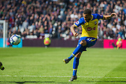 Ryan Bertrand (Southampton) during the Premier League match between West Ham United and Southampton at the London Stadium, London, England on 4 May 2019.