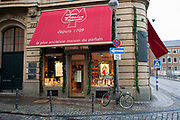 Exterior shot of Farina 1709 shop, the original Eau de Cologne shop and museum, Cologne.