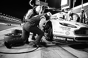 January 22-25, 2015: Rolex 24 hour. Aston Martin Mechanics