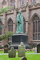 Trinity Churchyard, New York October 2008