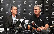 Cricket - NZ Coach John Wright