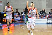 DESCRIZIONE : Final Eight Coppa Italia 2015 Semifinale Dinamo Banco di Sardegna Sassari - Grissin Bon Reggio Emilia<br /> GIOCATORE : Andrea Cinciarini<br /> CATEGORIA : Esultanza Mani<br /> SQUADRA : Grissin Bon Reggio Emilia<br /> EVENTO : Final Eight Coppa Italia 2015 <br /> GARA : Dinamo Banco di Sardegna Sassari - Grissin Bon Reggio Emilia<br /> DATA : 21/02/2015<br /> SPORT : Pallacanestro <br /> AUTORE : Agenzia Ciamillo-Castoria/L.Canu