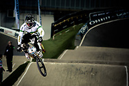 #4 (DEAN Anthony) AUS at the UCI BMX Supercross World Cup in Manchester, UK