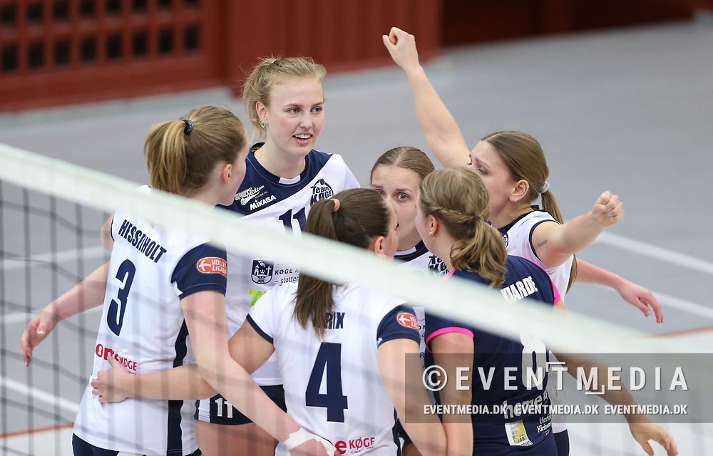 3. bronzekamp i VolleyLigaen mellem Elite Volley Aarhus og Team Køge Volley i Århus Gl. Stadionhal, Århus, Danmark, den 17.04.2019. Photo Credit: Allan Jensen/EVENTMEDIA.