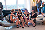 ALEX EVANS; BEANY GAY; LYDIA ZACHARIS; LISA FELDMAN,, THE launch of Coutts london jewelry week. Altitude 360. Millbank.  9 June 2009