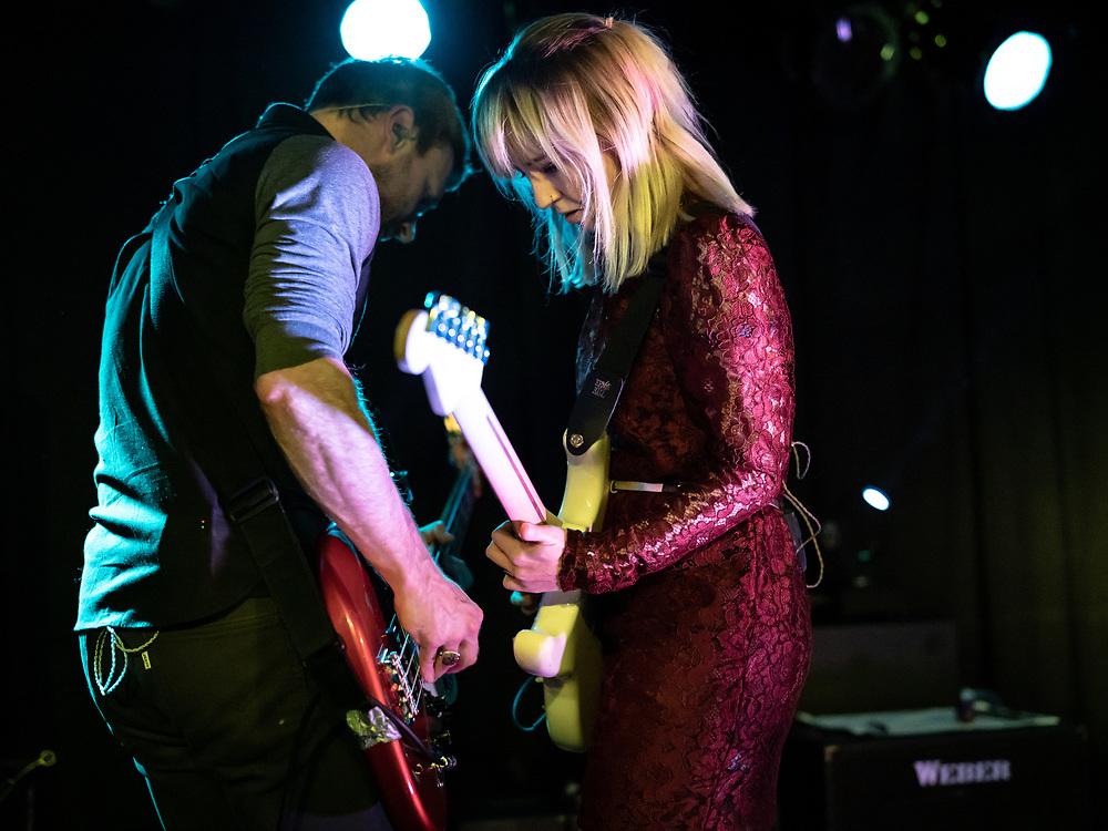 Welsh indie-rock band The Joy Formidable at Nachtleben in Frankfurt