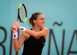May 8, 2019 - Madrid, MADRID, SPAIN - Petra Martic of Croatia in action during her third-round match at the 2019 Mutua Madrid Open WTA Premier Mandatory tennis tournament (Credit Image: © AFP7 via ZUMA Wire)