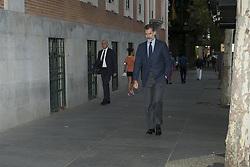 September 22, 2017 - Madrid, Spain - King Felipe VI of Spain  attend the Funeral Mass by Pura Sotillo in the Church of San Francisco De Borja of Madrid on September 22, 2017 , Spain. (Credit Image: © Oscar Gonzalez/NurPhoto via ZUMA Press)