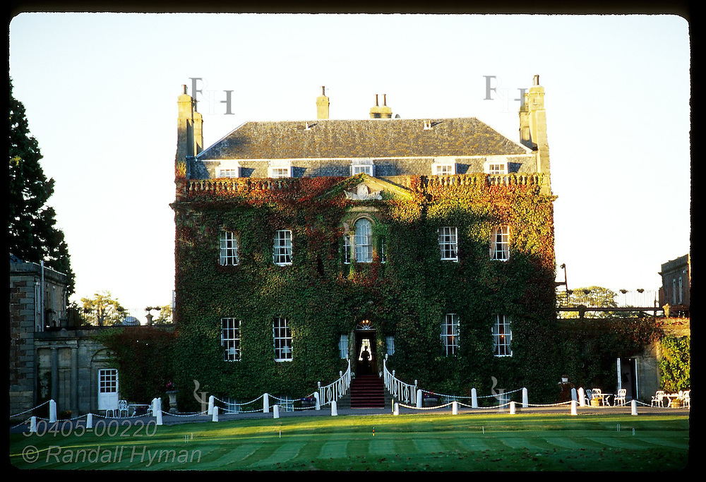 Culloden House, where Bonnie Prince Charlie stayed the night before his defeat in 1746, is now a luxury hotel; Inverness, Scotland.