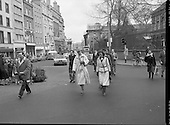 1978 - Queen Margrethe II Goes Shopping In Dublin.  (L85).
