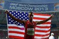 Athletics - IAAF World Championships 2013 - Stadium Loujniki , Moscow , RUSSIA - 10 to 18/08/2013 - Photo JULIEN CROSNIER / KMSP / DPPI - Day 2 - 11/08/13 - Decathlon - Ashton Eaton (USA) / Winner