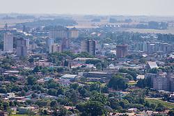 Vista aérea da cidade de Cruz Alta, no interior do Rio Grande do Sul. FOTO: Jefferson Bernardes / Agência Preview