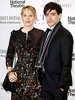 "Hattie Morahan & Blake Ritson, The National Theatre ""Up Next"" Gala, London UK, 07 March 2017, Photo by Brett D. Cove"