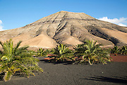 Montana de Medio, mountain, Los Ajaches mountain range, Lanzarote, Canary Islands, Spain