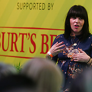 London, England, UK. 10th November 2017. how to break into a business you know nothing about with Pippa Murray at the Stylist Live 2017 at Olympia London.