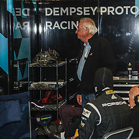 Norbert Singer at Dempsey Proton Racing pit garage on 15/06/2019 at the Le Mans 24H 2019
