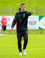 02/07/14<br /> CELTIC TRAINING<br /> AUSTRIA<br /> Celtic Manager Ronny Deila gives out instructions at pre-season training