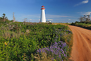 Lighthouse <br /> Point Prim<br /> Prince Edward Island<br /> Canada