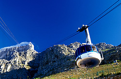 Cable Car lift, Table Mountain, Capetown, South Africa (Credit Image: © Axiom/ZUMApress.com)