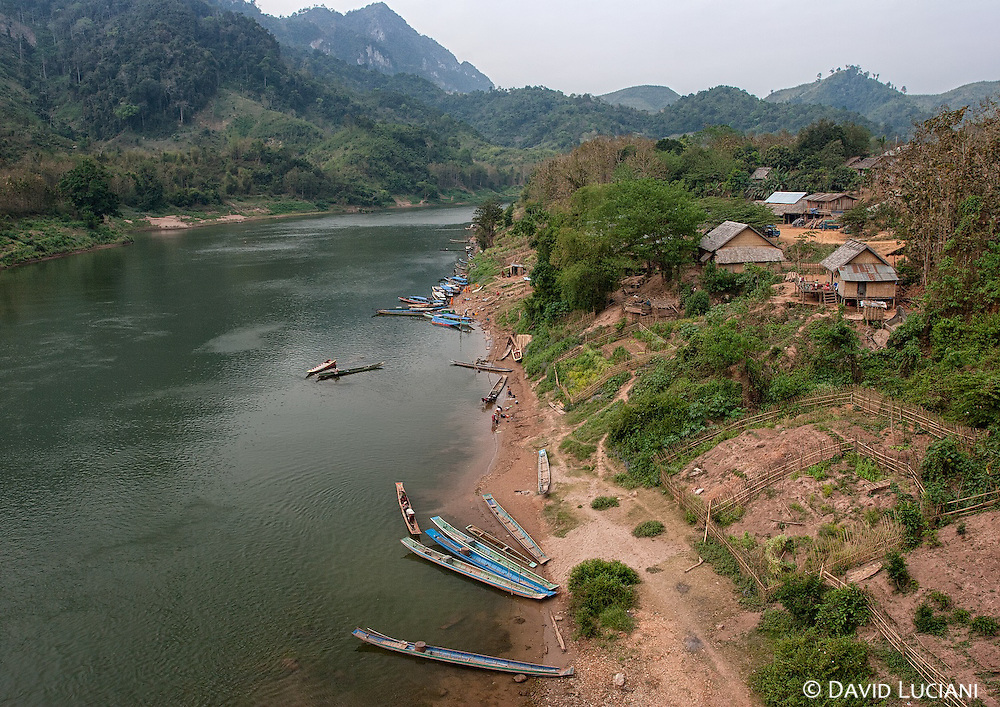 """According to """"Wikitravel"""" - Nong Khiaw (Nong Kiau or Nong Kiew) is a rustic little town on the bank of the Ou River in Laos. It is squeezed in between some of the most fantastic limestone mountains north of Vang Vieng.<br /> Many travellers pass through on the way up river to the even more isolated Muang Ngoi, but Nong Khiaw has a plenty of charm, a decent range of accommodation, plus conveniences suchas 24 hour electricity and a connection to the road network for those interested in exploring the surrounding area."""