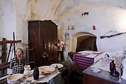 Matera, interior of a typical house